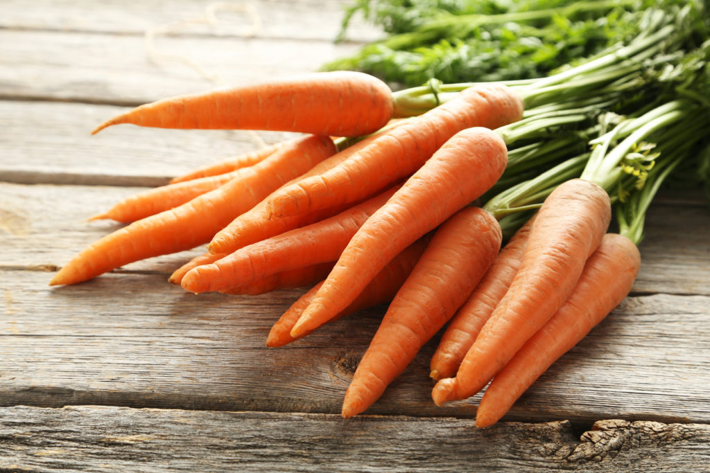 carrots are one of the crops grown by Grounded Growth farmes
