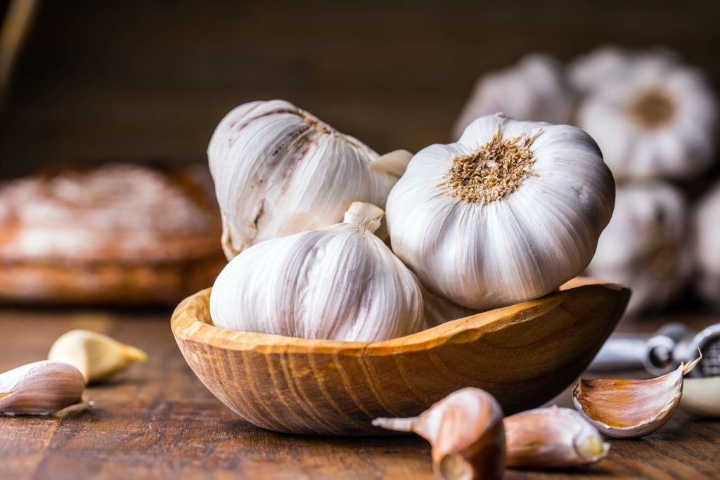 garlic is a crop grown by Grounded Growth farmers