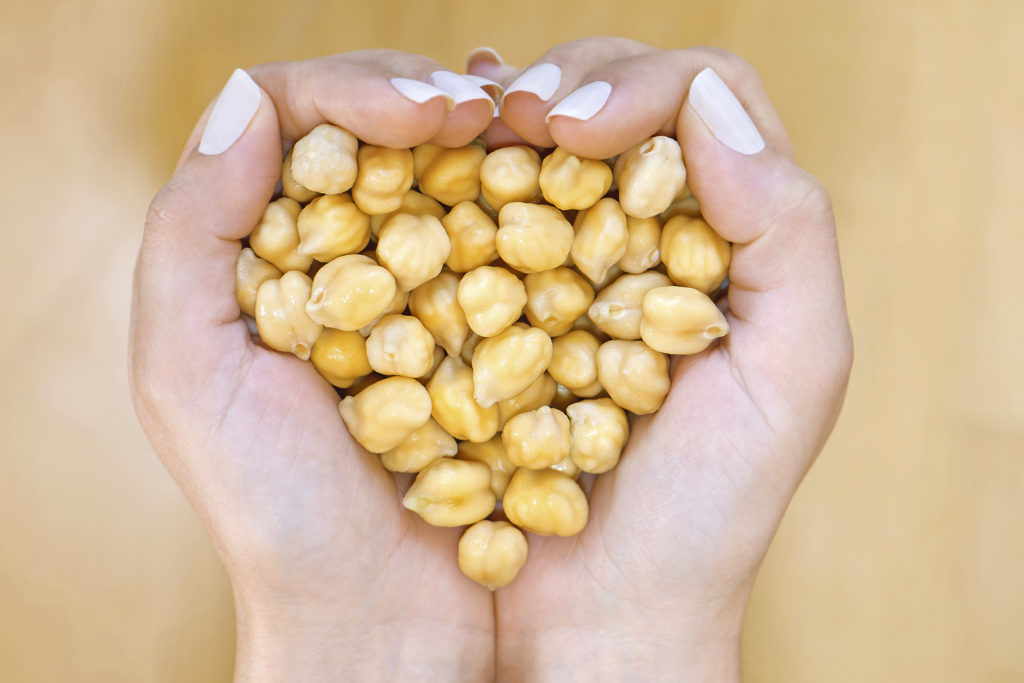 Chickpeas are also called garbanzo beans and are used to make hummus. Chickpeas are naturally gluten-free; nonGMO